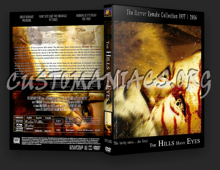 The Hills Have Eyes [Remake] dvd cover
