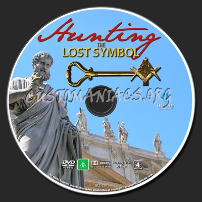 Hunting The Lost Symbol Dvd Label Dvd Covers Labels By