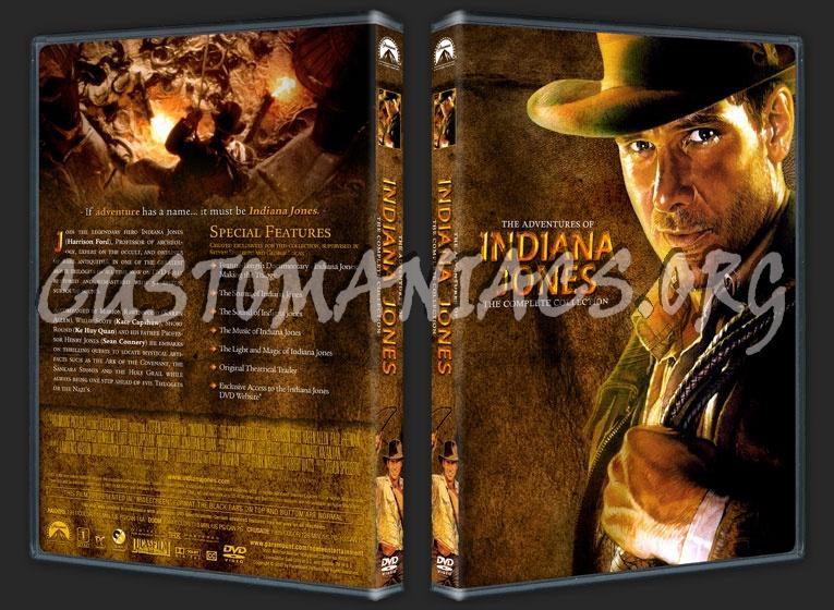 Indiana Jones Trilogy dvd cover