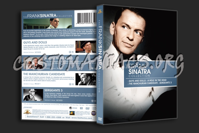 The Frank Sinatra Collection dvd cover