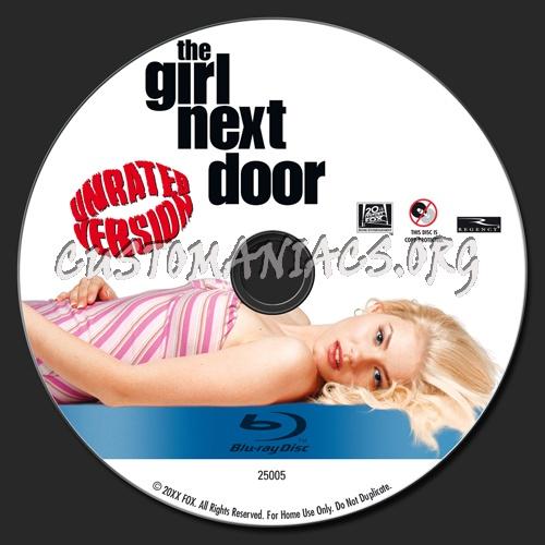 The Girl Next Door blu-ray label