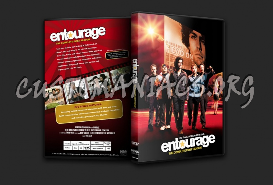 Entourage Season 1 Dvd Covers Labels By Customaniacs