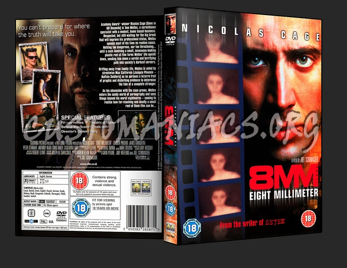 8mm dvd cover
