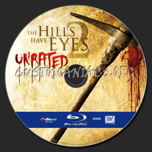 The Hills Have Eyes 2 blu-ray label
