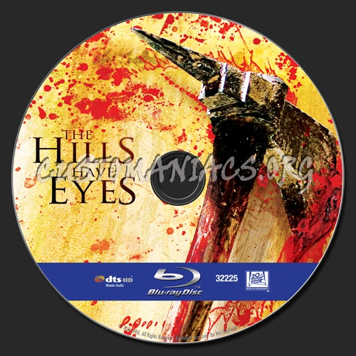 The Hills Have Eyes blu-ray label