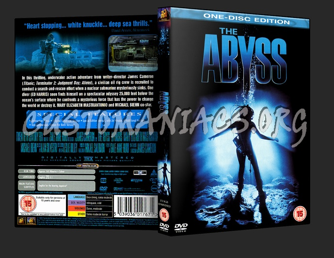 The Abyss dvd cover
