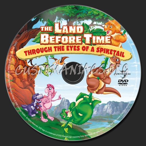 The Land Before Time: Through the Eyes of a Spiketail dvd label