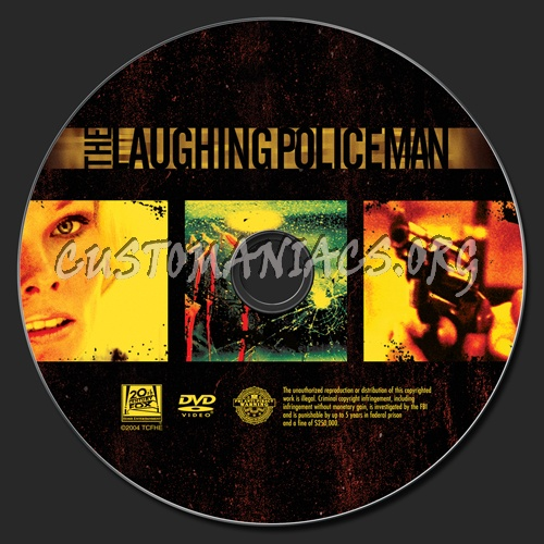 The Laughing Policeman dvd label
