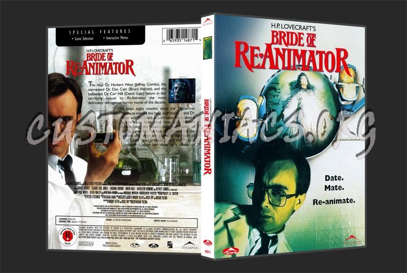Bride of Re-Animator dvd cover