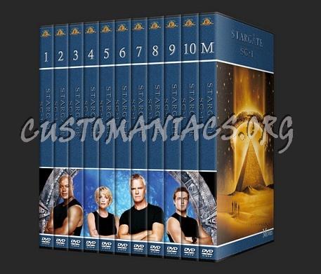 Stargate SG-1 dvd cover