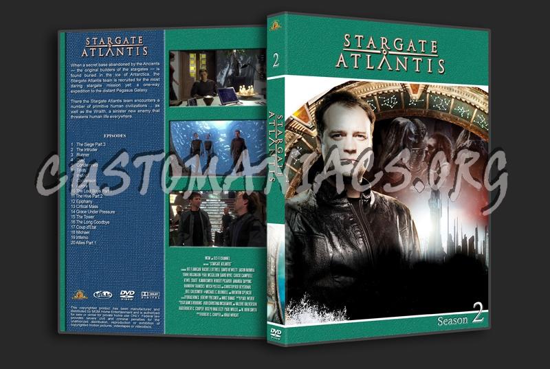 Stargate Atlantis dvd cover