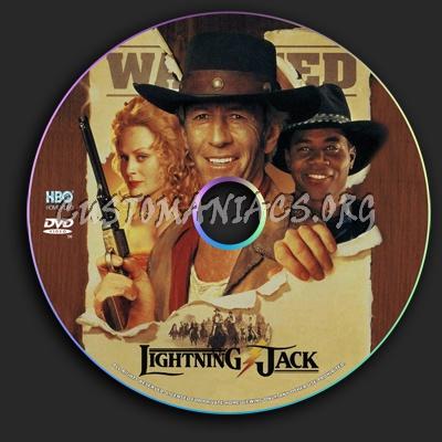 Lightning Jack dvd label