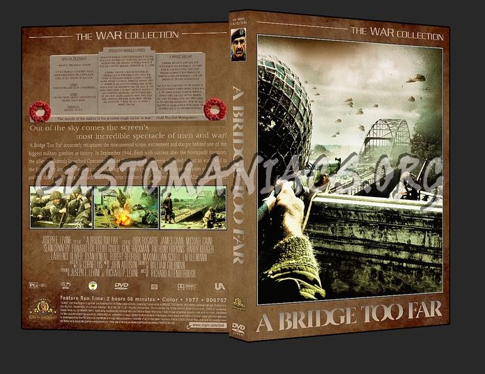 War Collection A Bridge Too Far dvd cover