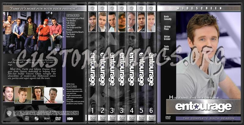 Entourage dvd cover