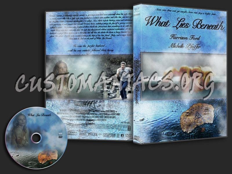What Lies Beneath dvd cover