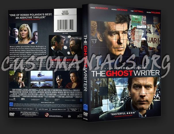 The Ghost Writer dvd cover