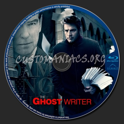 The Ghost Writer blu-ray label