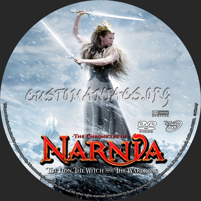 The Chronicles of Narnia: The Lion, The Witch and the Wardrobe dvd label