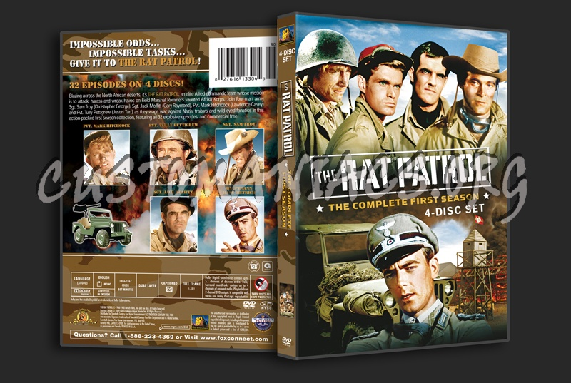 The Rat Patrol Season 1 dvd cover