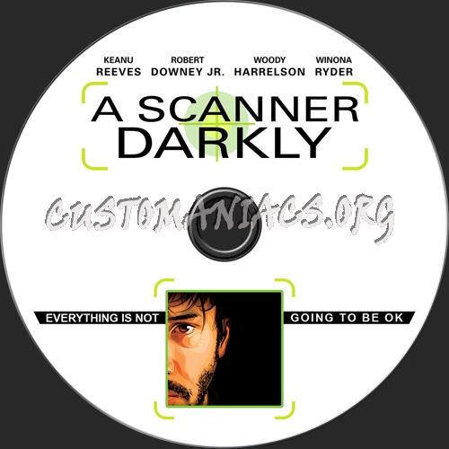 A Scanner Darkly dvd label