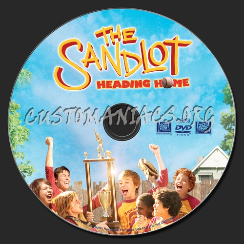 The Sandlot Heading Home dvd label - DVD Covers & Labels by