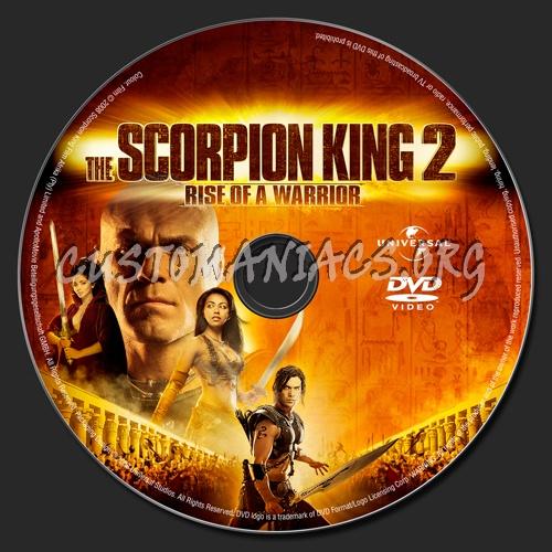 The Scorpion King 2 Dvd Label