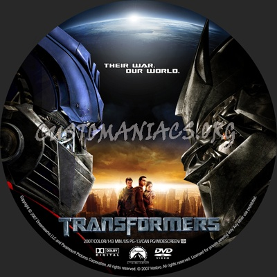 posts transformers dvd label share this link transformers label