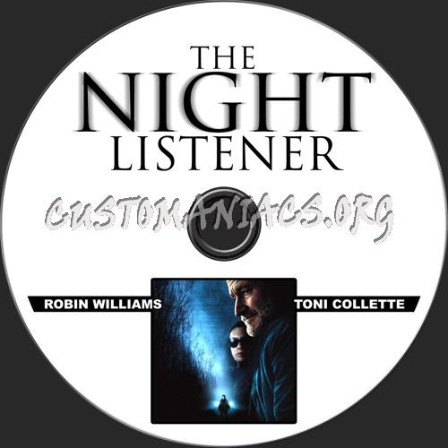 The Night Listener dvd label