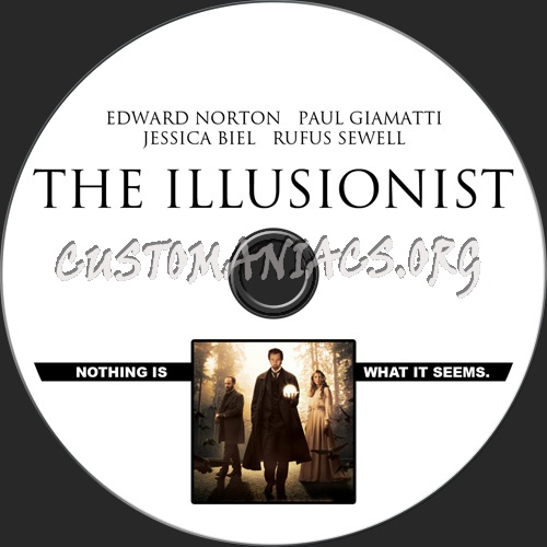The Illusionist dvd label - DVD Covers & Labels by ...