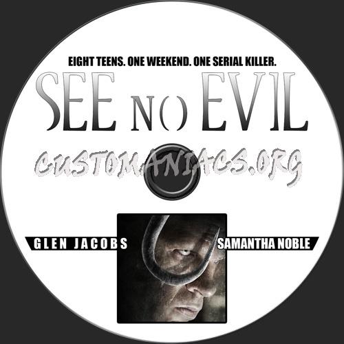See No Evil dvd label