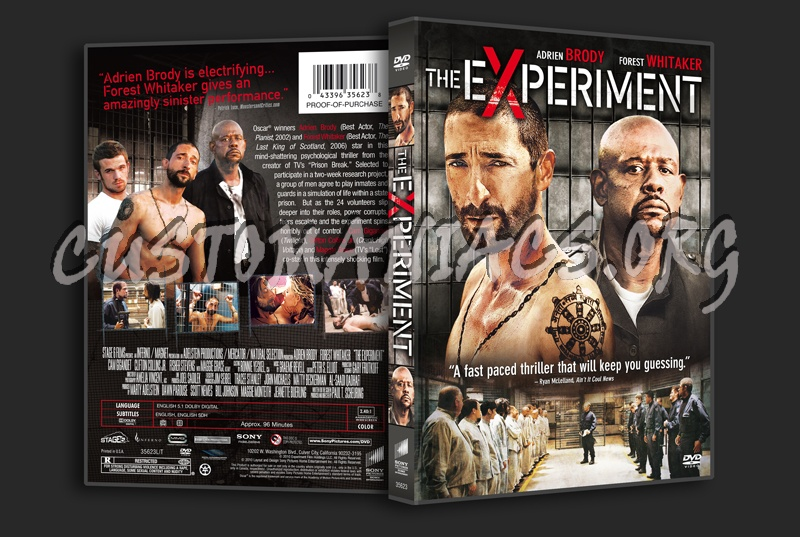 The Experiment dvd cover