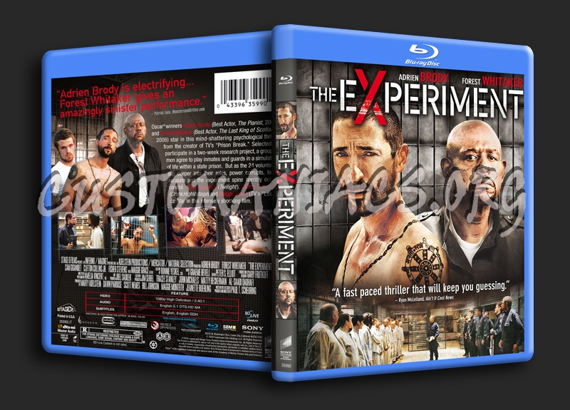 The Experiment blu-ray cover