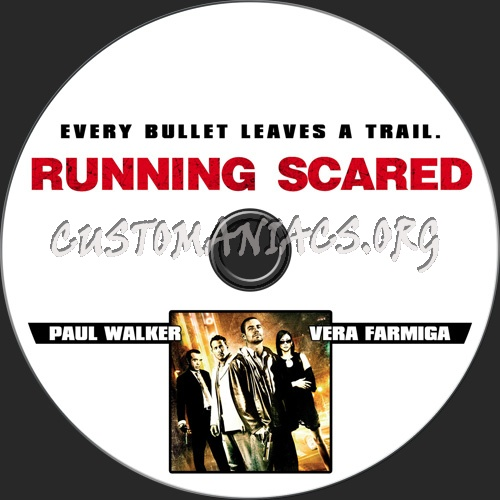 Running Scared dvd label