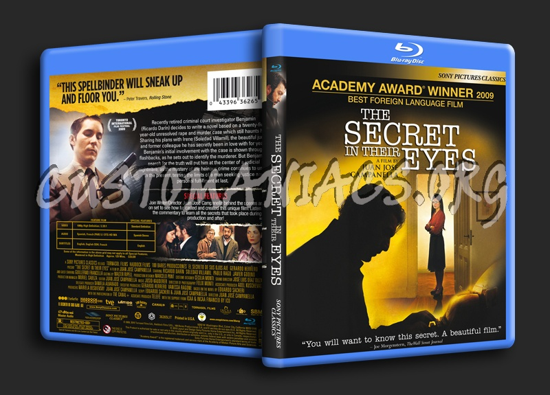 The Secret in Their Eyes blu-ray cover