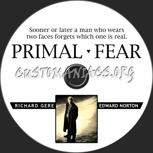 Primal Fear dvd label