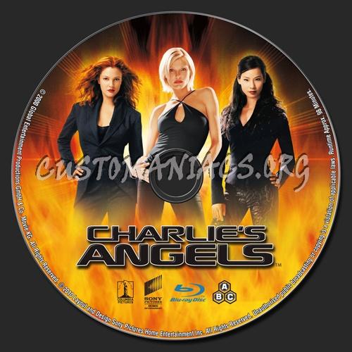 Charlie's Angels blu-ray label