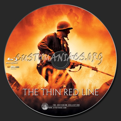 The Thin Red Line blu-ray label