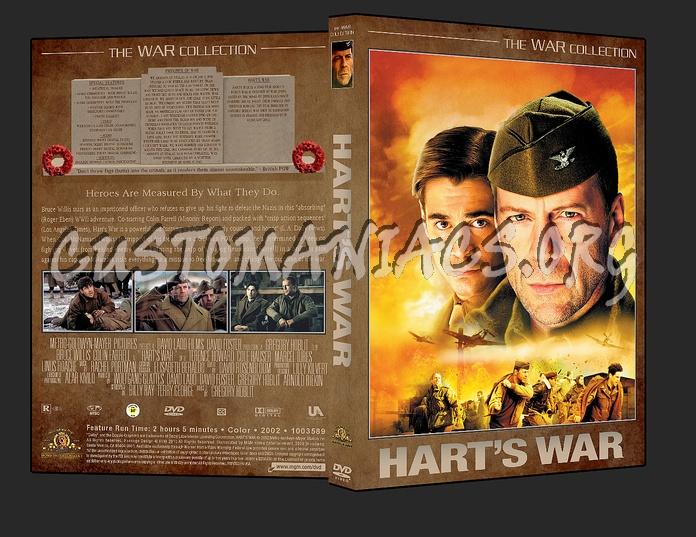War Collection Hart's War dvd cover