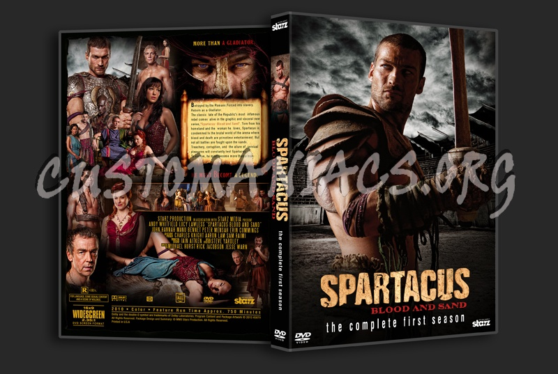 Spartacus: Blood and Sand dvd cover