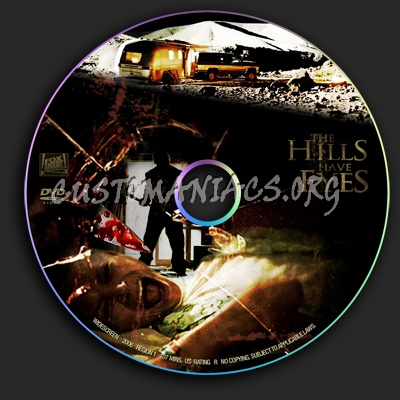 The Hills have Eyes dvd label