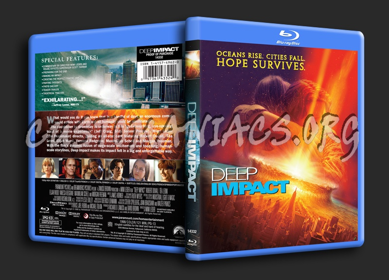 Deep Impact blu-ray cover