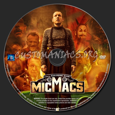 Micmacs dvd label