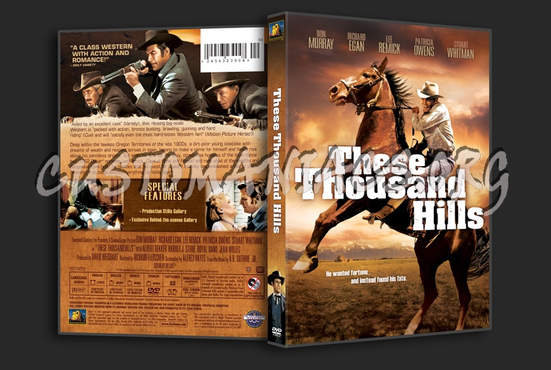 These Thousand Hills dvd cover
