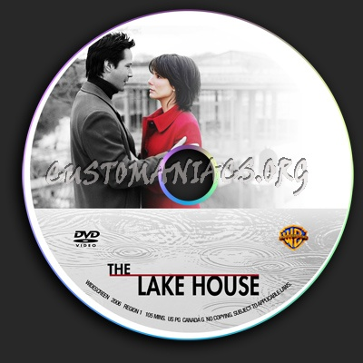 The Lake House dvd label