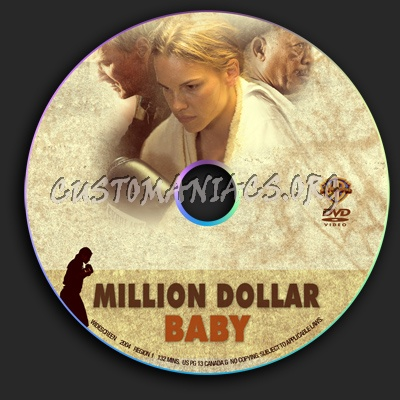 Million Dollar Baby dvd label