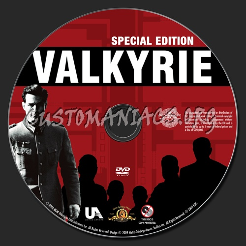 Valkyrie dvd label