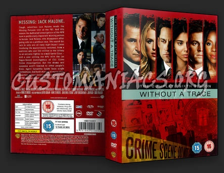 Without a Trace Season 6 dvd cover