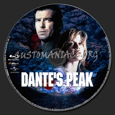 Dante's Peak blu-ray label