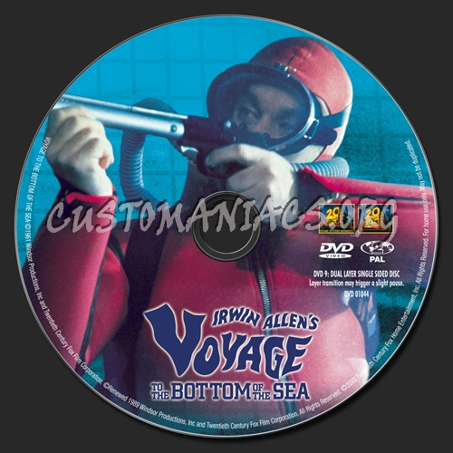 Voyage to the Bottom of the Sea dvd label