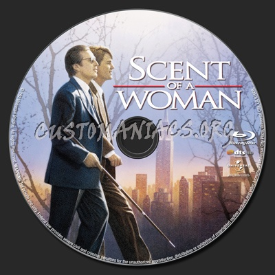 Scent of a Woman blu-ray label